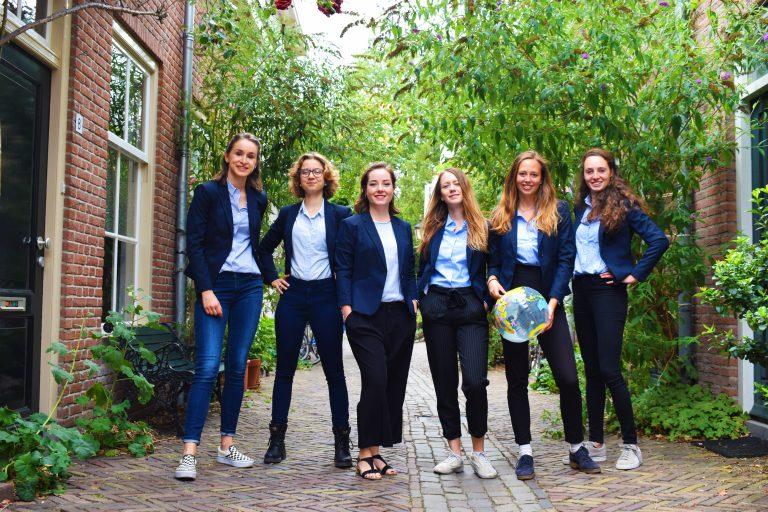 bestuursfoto studenten voor morgen bestuur 18 19