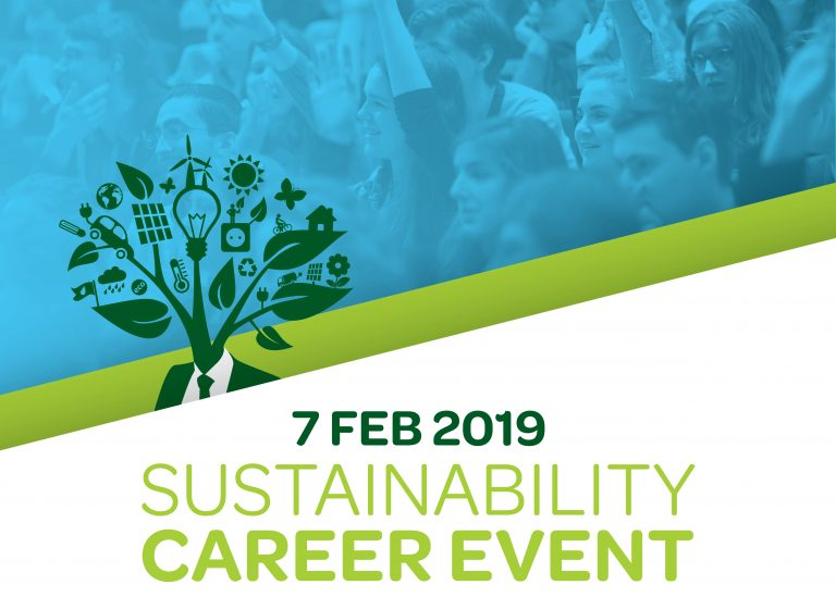 sustainability career event 2019 aanmelden sign up