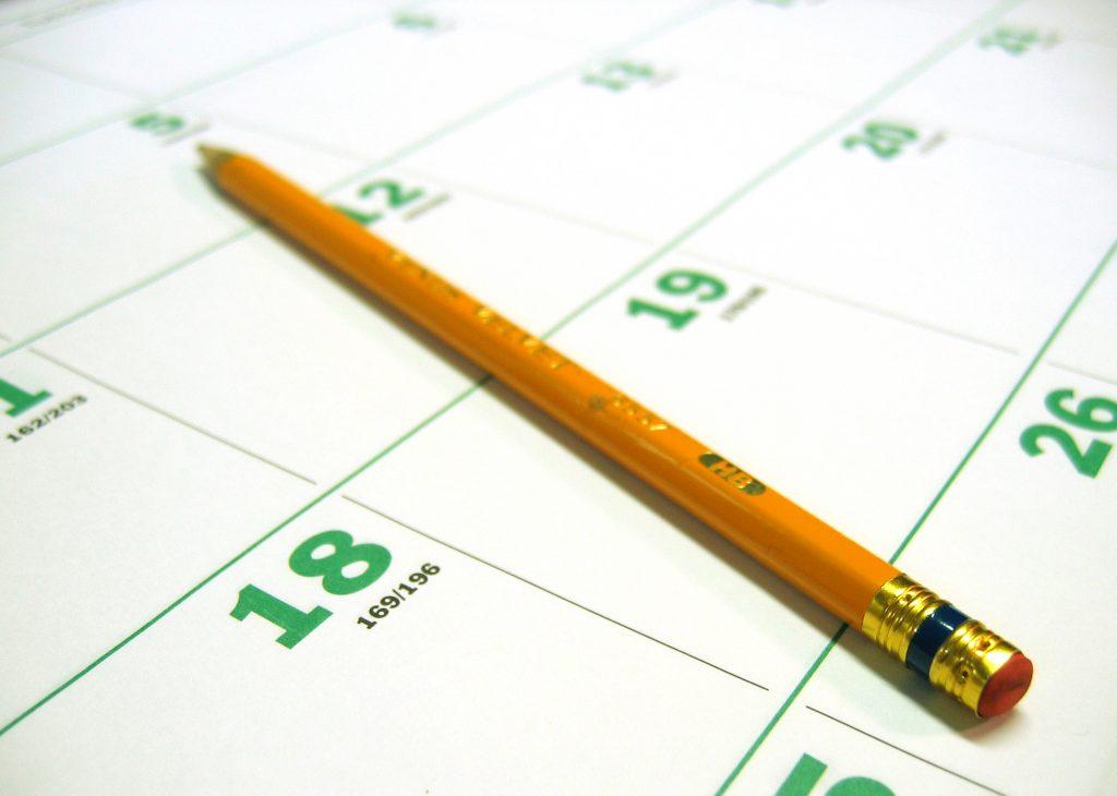 calendar kalender morgen