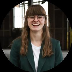 Britt Dragstra- Voorzitter Morgen